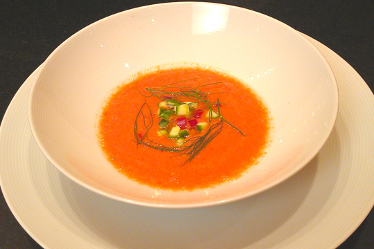 Tomato Watermelon Gazpacho Recipe
