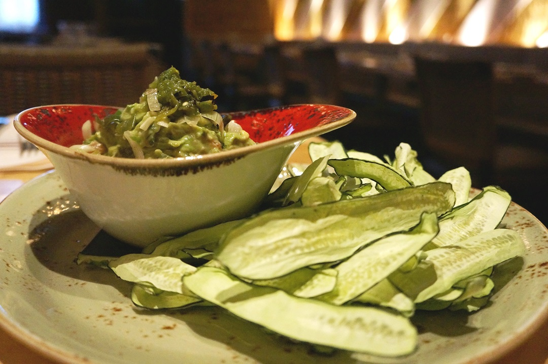 Charred Jalapeño and Spring Onion Guacamole Recipe by Chef Ivy Stark