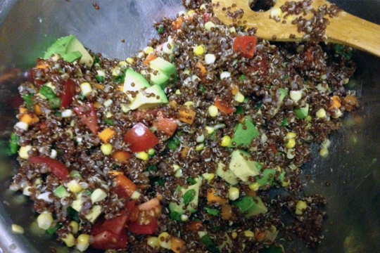 South american quinoa salad healthy recipes south american quinoa salad recipe forumfinder Images