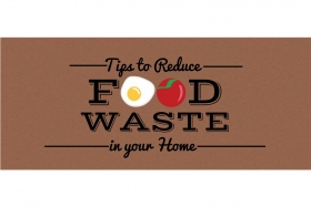 Infographic: Reducing Food Waste at Home