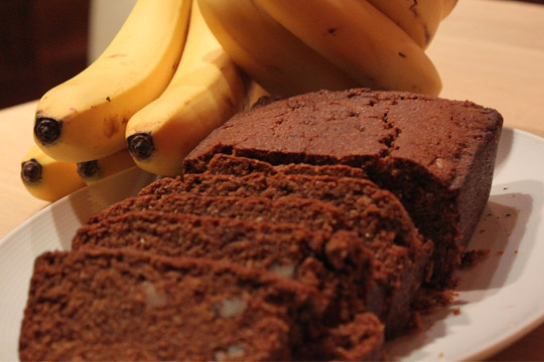 Pumpkin Banana Bread with Chia Recipe