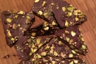 Happy National Pistachio Day: Dark Chocolate Pistachio Bark