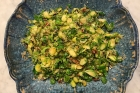 Recipe: Lemony Brussels Sprouts with Toasted Pecans and Breadcrumbs