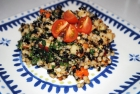 Recipe: Hearty Three Grain Salad with Carrots, Apples and Greens