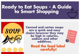 Infographic: Savvy Shopping for Soup