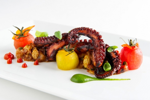 Spanish Octopus Salad Health Facts Dish Nutritional