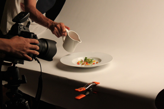 Evan Sung shoots a Local Tomato Gazpacho